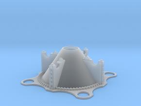 MOTUC Grayskull Standard Base in Smooth Fine Detail Plastic