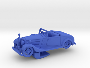 Bentley 1930 4,5L 1:48 in Blue Processed Versatile Plastic