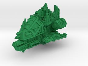 Killer Cruiser (Cannons) in Green Processed Versatile Plastic