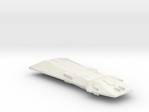 3125 Scale Hydran Monarch Battleship (BB) CVN in White Natural Versatile Plastic
