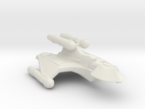 3125 Scale Romulan RoyalHawk-K+ Command Cruiser MG in White Natural Versatile Plastic