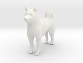 G scale husky H in White Natural Versatile Plastic