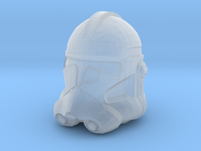 Clone Trooper Helmet - 32mm  in Smooth Fine Detail Plastic