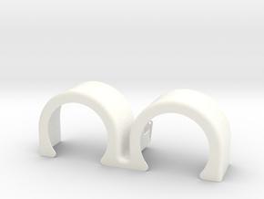 double hump fender 2 in White Processed Versatile Plastic