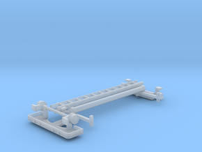 Service Van Ladder Rack Kit 1-87 HO Scale in Smooth Fine Detail Plastic