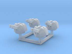 1/285 (6mm) Semovente M15/42 Contraereo turret in Smooth Fine Detail Plastic