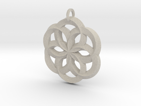 Spirit of Water Pendant in Natural Sandstone