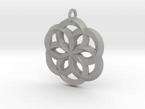 Spirit of Water Pendant in Aluminum