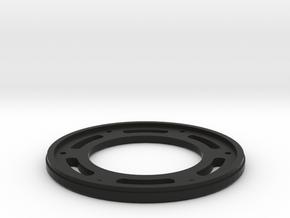 RS10 Beadlock Ring V1.1 in Black Natural Versatile Plastic