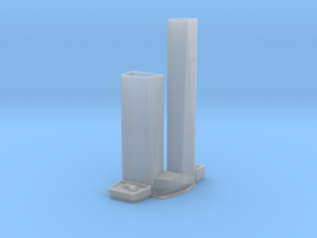 OKO Towers (1:1800) in Smooth Fine Detail Plastic