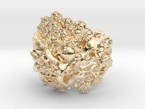 AWARD WINNING DESIGN- Balinese Barong Ring in 14K Yellow Gold: 6 / 51.5