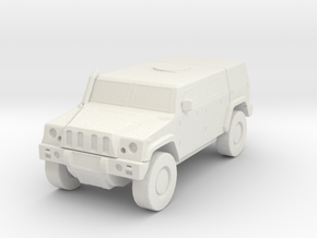 LMV Lince scale 1/87 in White Natural Versatile Plastic