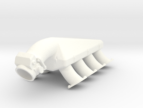 LS3/LSX 1/12 turbo intake 1 in White Processed Versatile Plastic