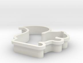 ritsu-cookiecutter in White Natural Versatile Plastic