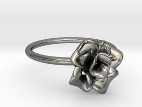 Elena Ring  in Polished Silver