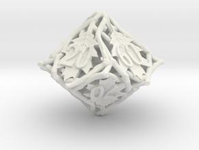 Botanical Decader Die10 (Oak) in White Premium Versatile Plastic