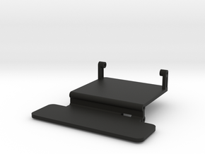 Brazin Hi-Low Chassis Electronics Tray in Black Natural Versatile Plastic