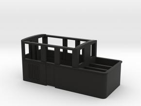 009 Sentinel Side Windows  Vents - Part 4B in Black Premium Versatile Plastic
