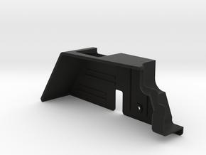 JK RH Inner Fender(for LH trans/motor) in Black Natural Versatile Plastic