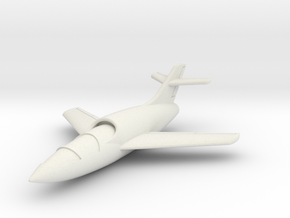(1:144) Yakovlev Yak-29 in White Natural Versatile Plastic