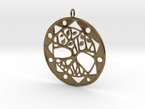 Tree Of Life in Polished Bronze