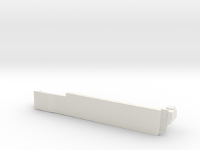 Cisco 1832 Coverplate Squared  in White Natural Versatile Plastic