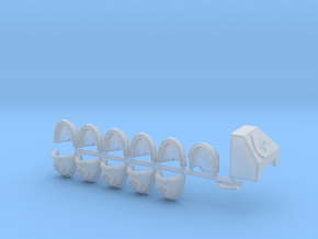 Shark Start Collection Bundle R in Smooth Fine Detail Plastic