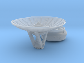 YT1300 5 FOOTER RADAR DISH W MOUNT in Smooth Fine Detail Plastic