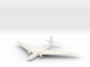 (1:285) Schnellbomber I in White Natural Versatile Plastic