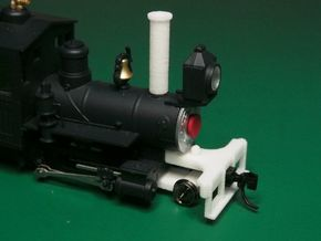 Parts to convert F&C loco to 2-4-0 [set A] in White Processed Versatile Plastic