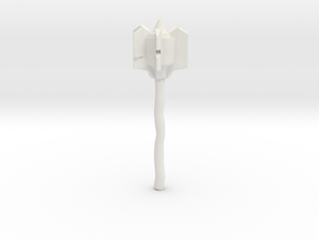 orc mace in White Natural Versatile Plastic