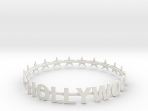 SUPER HOLLYWOOD BRACELET - 50% OFF in White Natural Versatile Plastic