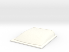Roof Mold -1mm in White Processed Versatile Plastic