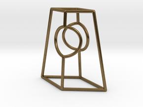 "Diamond Portal 1"" in Natural Bronze"