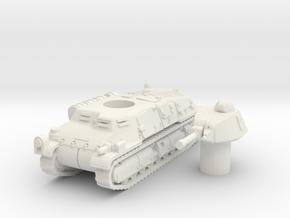somua S35 scale 1/87 in White Natural Versatile Plastic