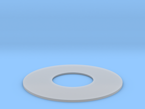 YT1300 5 FOOTER DOCKING RING DETAIL PLATE in Smooth Fine Detail Plastic