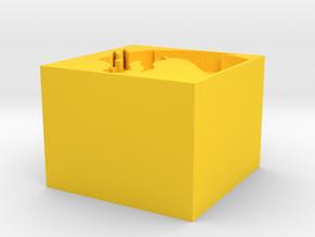 3dslash-02 May 18 in Yellow Processed Versatile Plastic