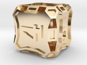 Premier d6 - Custom in 14K Yellow Gold