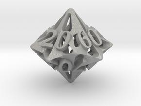Pinwheel Decader d10 in Aluminum