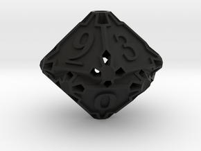 Premier Die10 in Black Premium Versatile Plastic