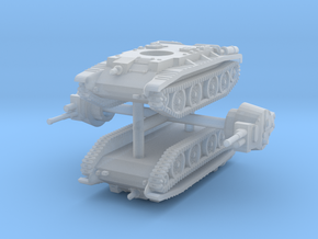 1/285 (6mm) 10TP cruiser tank (x2) in Smooth Fine Detail Plastic