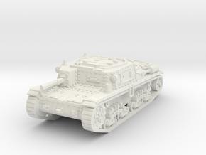 M42 carro comando scale 1/87 in White Natural Versatile Plastic