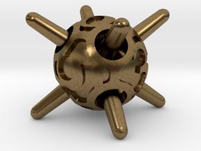 Sputnik d6 in Natural Bronze