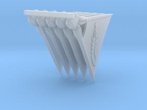 ReaverSail_Blade-x5 in Smooth Fine Detail Plastic