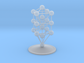 3D Tree of Life in Smoothest Fine Detail Plastic: Medium