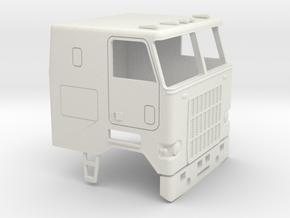 1/32 Mack Cruise-Liner Cab in White Natural Versatile Plastic