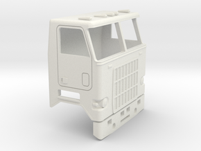1/32 Mack Cruise-Liner  Day Cab in White Natural Versatile Plastic