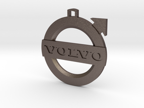 volvo in Polished Bronzed Silver Steel