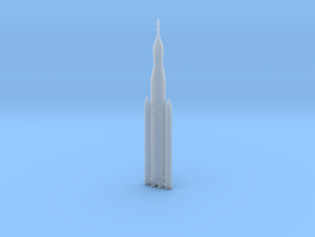 NASA SLS (Space Launch System) 1/500 in Smooth Fine Detail Plastic: 1:500