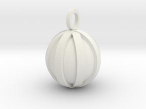 Four Slots in White Natural Versatile Plastic